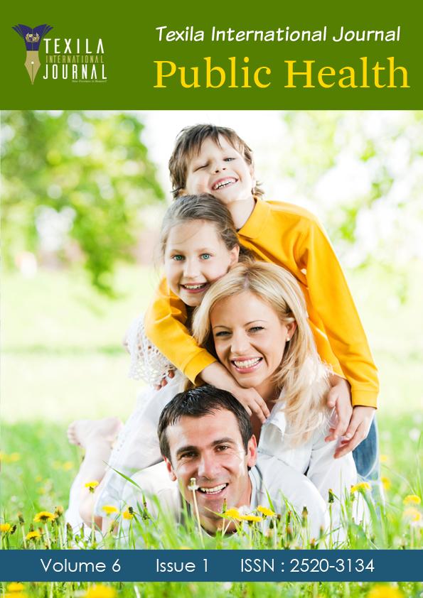 International Journal Of Public Health Texila Science Journal